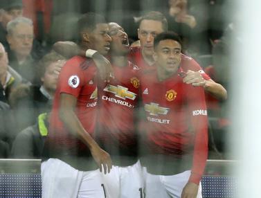 Gol Tunggal Rashford Antar Mu Taklukan Tottenham