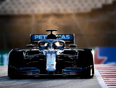 Lewis Hamilton Tercepat di Tes Pramusim F1 Barcelona Sesi 1