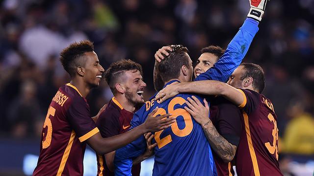 AS Roma kalahkan Real Madrid melalui adu penalti dengan skor 7-6 di turnamen International Champions Cup 2015.