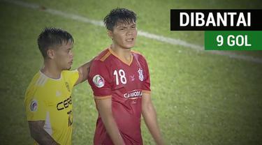 Berita video klub Kamboja, Boeung Ket FC, dibantai 9 gol tanpa balas oleh wakil Filipina, Ceres-Negros FC, pada fase Grup F Piala AFC 2018, Selasa (13/2/2018).