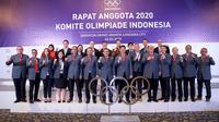 Rapat Anggota Tahunan (RAT) National Olympic Committe (NOC) Indonesia di Hotel Sheraton Jakarta, Senin (2/3/2020). (Istimewa)