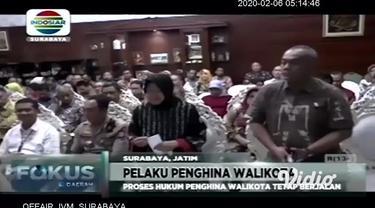 Wali Kota Surabaya, Tri Rismaharini memaafkan pelaku penghinaan yang menjadi tersangka pencemaran nama baik. Kasus ini dilaporkan ke polisi oleh Kepala Bagian Hukum Pemerintah Kota (Pemkot) Surabaya pada 21 Januari 2020.