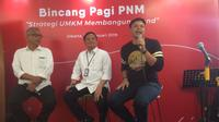 "PT Permodalan Nasional Madani (Persero) gelar acara sharing bersama media bertajuk ""Strategi UMKM Membangun Brand""."