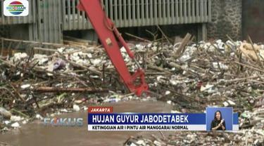 Petugas dari Dinas Lingkungan Hidup dan Kebersihan DKI Jakarta telah bersiaga untuk membersihkannya.