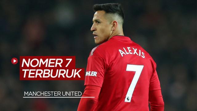 Berita Video Alexis Sanchez dan 3 Pemain Lainnya Pengguna Nomer 7 Terburuk di Manchester United