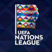 Logo Nations League pada acara undian di markas UEFA, Lausanne, Swiss, Rabu (24/1/2018). (AFP/Philippe Desmazes)