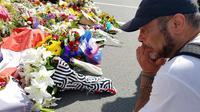 Warga Selandia Baru bersolidaritas terhadap korban penembakan (AFP Photo)