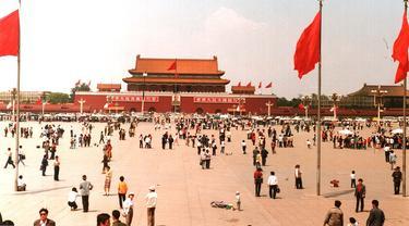 1989 protes Lapangan Tiananmen