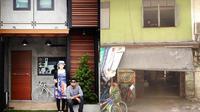 (Foto: renovate.in.th) Pasangan asal Jepang ubah bangunan tua di Bangkok jadi hunian yang nyaman.