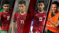 Trivia Tembok Lini Belakang Timnas Indonesia U-23 (Bola.com/Adreanus Titus)