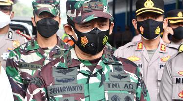 Pangdam V/Brawijaya Mayjen TNI Suharyanto. (Dian Kurniawan/Liputan6.com)