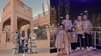 Momen Lebaran Keluarga Anang Hermansyah di Dubai, Penuh Kehangatan. (Sumber: Instagram/ashanty_ash dan YouTube/The Hermansyah A6)