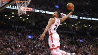 Toronto Raptors akhirnya menang mudah 113-80 pada laga lanjutan NBA kontra LA Lakers di Toronto, Jumat (2/12/2016), dengan Norman Powell sebagai bintang laga.  (Bola.com/Twitter/NBA)