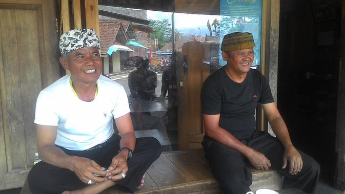 Pengurus Kampung Adat Naga Tasikmalaya (Liputan6.com/Jayadi Supriadin)