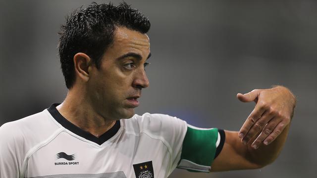 20151127- Xavi Hernandez - Qatar-AFP Photo