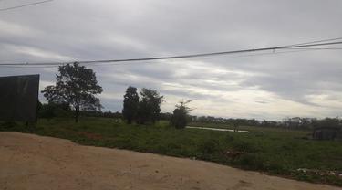 Lokasi pembebasan lahan oleh Perumnas di Desa Pettuadae, Kecamatan Turikale, Kabupaten Maros, Sulsel (Liputan6.com/ Eka Hakim)