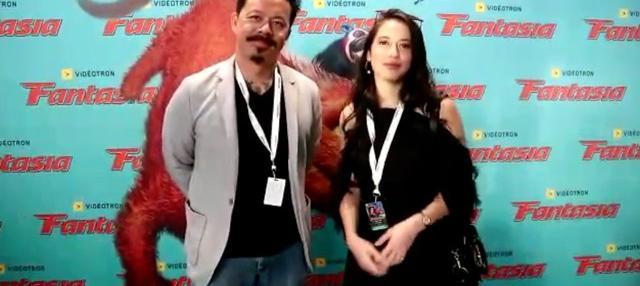 Pevita Pearce hadiri world premiere film Buffalo Boys produksi Screenplay Infinite Films bersama sutradara Mike Wiluan.