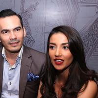 Foto Atalarik Syah dan Tsania Marwah (Nurwahyunan/bintang.com)