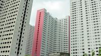 Berikut keunikan apartemen Green Pramuka yang menghadirkan jajanan kaki lima di dalam kawasan hunian. (Foto: Rumah.com)