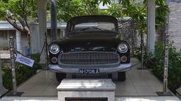 Mobil Opel Kapitan produksi Jerman tahun 1956 ini merupakan milik Bung Tomo, seorang pejuang dan Pahlawan Nasional dari Kota Surabaya. (Istimewa)