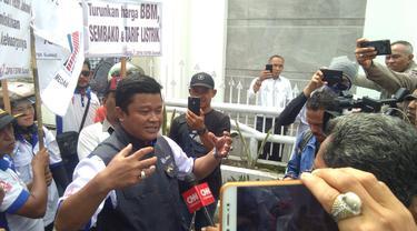 Ketua FSPMI Sumut, Willy Agus Utomo