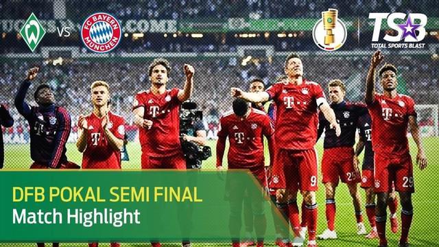 Berita Video Bayern Munchen Akan Hadapi Leipzig di Final DFB Pokal