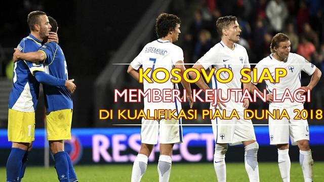 Video timnas Kosovo yang harus mengungsi ke Albania untuk menggelar laga kandang Kroasia di kualifikasi Piala Dunia 2018, Kamis (6/10/2016) nanti.