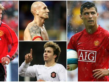Berikut ini lima pemain yang seharusnya tidak pernah dijual Manchester United. Diantaranya Cristiano Ronaldo, David Beckham dan Gerard Pique.