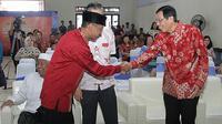 Bupati Kota Kudus Muhammad Tamzil dan Presiden Direktur PT Nojorono Stefanus JJ Batihalim.