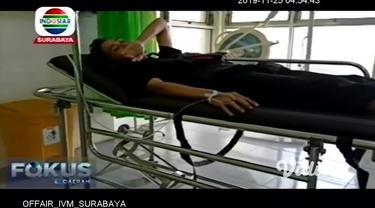 Sebuah minibus berisi rombongan guru asal SMP Negeri Sumberbaru, Jember, mengalami kecelakaan di jalan tol Pasuruan-Probolinggo KM 822, tepatnya di Kecamatan Tongas, Probolinggo, Minggu pagi. Seorang tewas di tempat kejadian, sedangkan belasan lainny...
