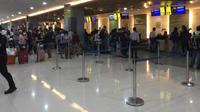 Operasional terminal domestik Bandara I Gusti Ngurah Rai (Foto: Dok PT Angkasa Pura I)