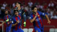 Sevilla Vs Barcelona (Reuters)