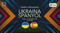 Ukraina vs Spanyol (Liputan6.com/Abdillah)