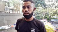 Bek sayap Persib Bandung, Ardi Idrus. (Bola.com/Erwin Snaz)