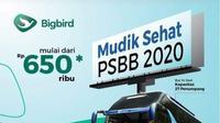 Gambar PT Blue Bird Tbk Menyediakan Angkutan Mudik (Foto: Liputan6/Putu Merta Surya Putra)