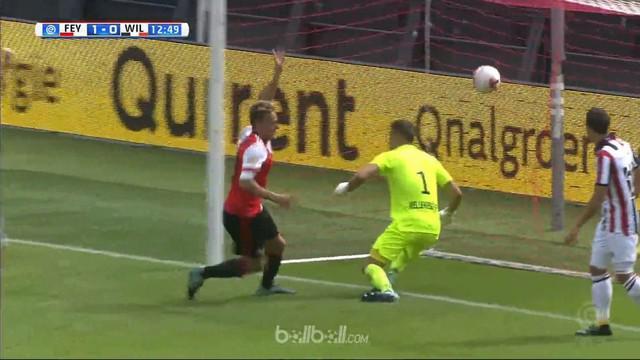 Berita video highlights Eredivisie 2017-2018 antara Feyenoord melawan Willem II dengan skor 5-0. This video presented by BallBall.