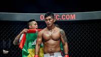 Petarung One Championship Aung La N Sang. (One Championship)