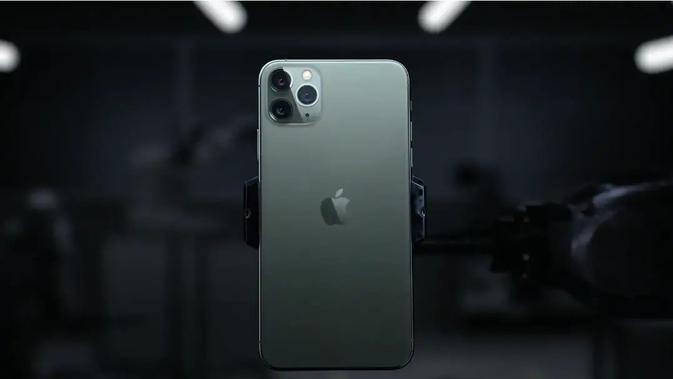 Bodi belakang iPhone 11 Pro. Kredit: YouTube/Apple