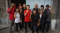 Putra sulung Presiden Jokowi, Gibran Rakabuming Raka ketika sedang blusukan menemui para relawan dan pendukungnya.(Liputan6.com/Fajar Abrori)
