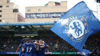 Chelsea berhasil mengalahkan Tottenham Hotspur di Stamford Bridge dengan skor 2-1. (Dok. Chelsea FC)