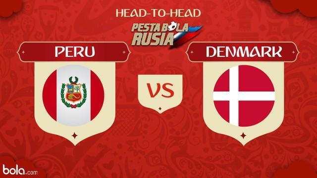 Berita video head-to-head Piala Dunia Rusia 2018: Peru vs Denmark.