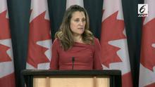 Menteri Luar Negeri Kanada membenarkan ada dua warganya yang hilang kontak di China.