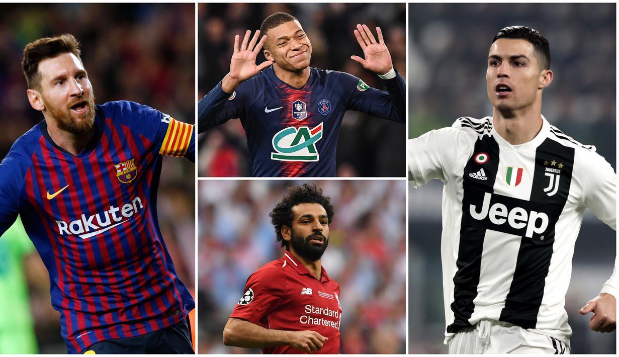 FOTO Daftar 10 Kandidat Pemain Terbaik FIFA 2019 Dunia