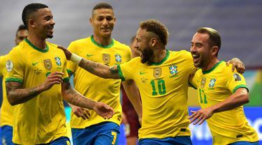 Piala Conmebol Copa Amerika 2021 Brasil melawan Venezuela