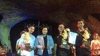 Ni Made Sucita Dewi, Mahasiswa STP Bali dari Prodi ADH berhasil meraih juara III Lomba Butter Carving.