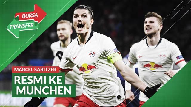 Berita Video, Tinggalkan RB Leipzig, Marcel Sabitzer Resmi Gabung ke Bayern Munchen