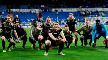 Bantai Real Madrid, Ajax Melaju ke Perempat Final Liga Champions