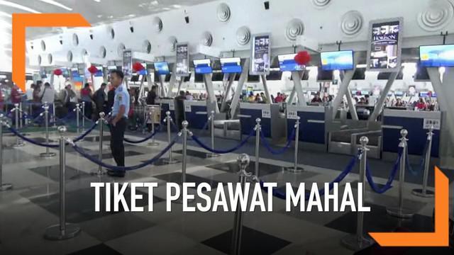 Kunjungan anggota DPD RI ke Bandara Kuala Namu menemukan fakta puluhan penerbangan batal berangkat karena alasan tiket mahal.