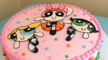 Kue Kue Ulang Tahun Super Kece Bertema Powerpuff Girls Fimela Fimela Com