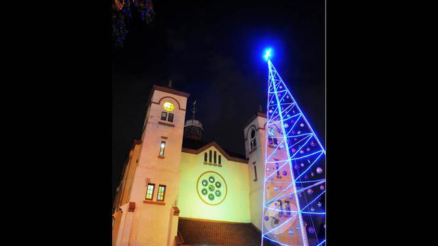"""Misa Natal di Gereja """"Ayam"""" Pasar Baru"""